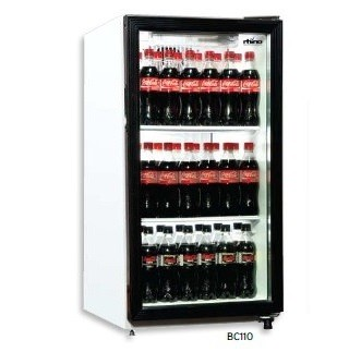rhino display bottle fridge