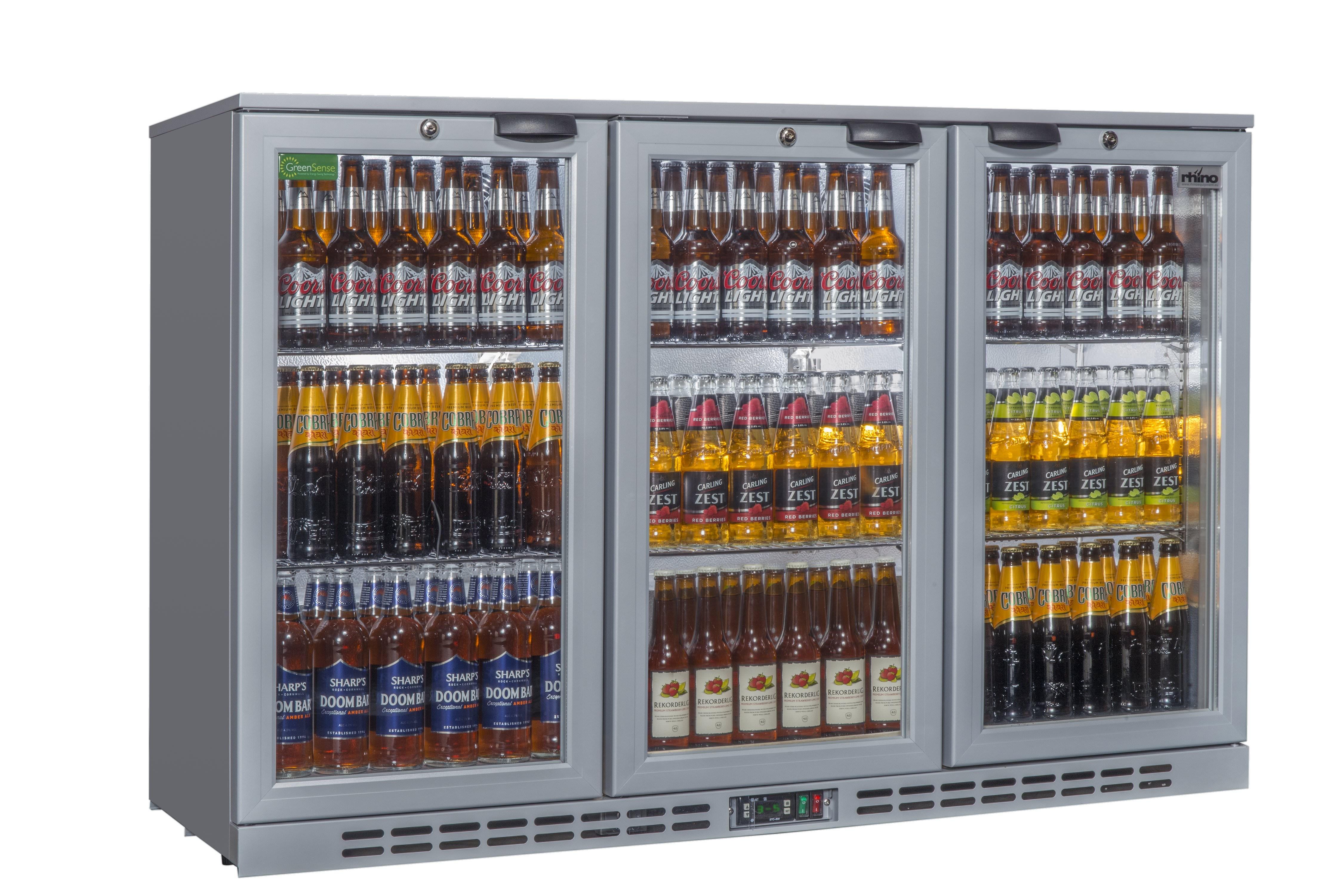 Rhino Cold1350 | Triple Door Commercial Bottle Cooler