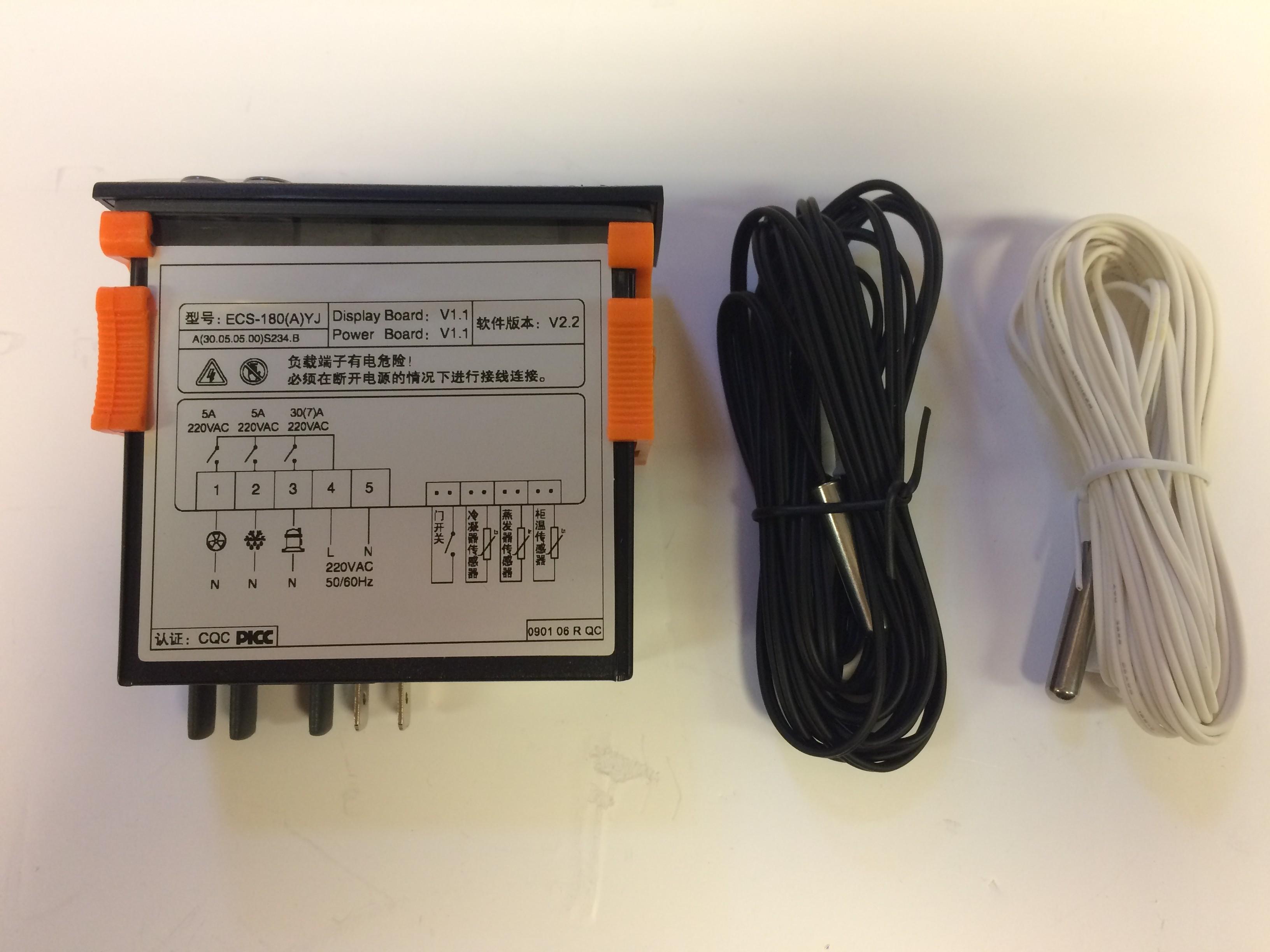 Rhino Moscow-293/Toronto-458 Elitech Controller Model ECS-180(A)