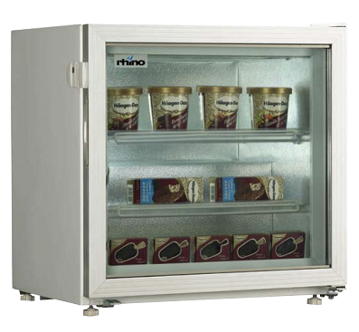 Counter-top ice cream freezer