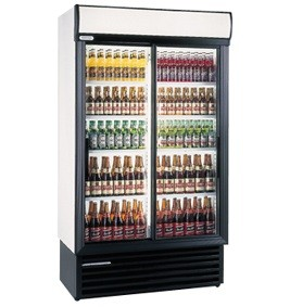 Sliding Upright Bottle Cooler