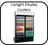 Upright display coolers