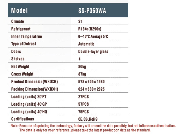 cold578t specs